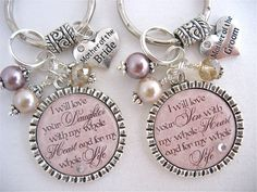 MOTHER of the BRIDE Gift Mother of the GROOM by MyBlueSnowflake, $26.50