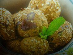 polpette di melanzane - con menta e sesamo - ottimo secondo piatto in alternativa alla carne origianale e gustoso da provare