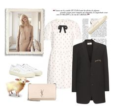 """Yeah Baby it's weekend!"" by juliabachmann ❤ liked on Polyvore featuring мода и Yves Saint Laurent"