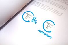 Imagen corporativa de TF Assessors. #logo #ImagenCorporativa #Identity