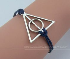 Harry potter bracelet antique silver deathly hallows by NewGifts, $0.99