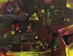 The Vertigo of Eros (1944) Roberto Matta