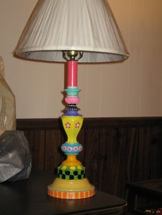 I am enjoying buying thrift store lamps and recycling them.  So much fun!