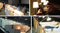 Na Rússia, a IKEA trocou as poltronas do cinema por camas de casal –…