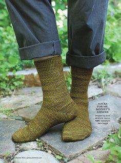 Ravelry: Socks for Mr. Bennet's Leisure pattern by Josie Mercier