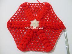 StitchLand : 01.10.2012 - 01.11.2012 Pot Holders, Bedspreads, Tejidos, Hot Pads, Potholders