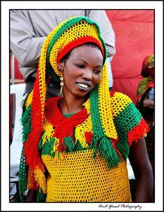 Rastafarian clothing for women