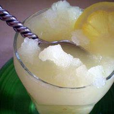 Fresh Lemon Slushy recipe