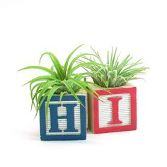 HI Alphabet Planter #productdesign