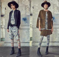 Gary Graham 2017 Spring Summer Womens Lookbook Presentation - New York Fashion Week - Victorian Dutch