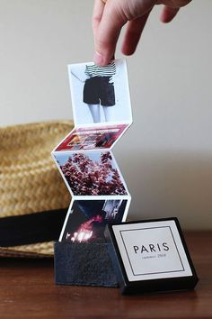 DIY mini travel book
