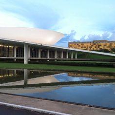 Brasilia - Brazil cruising around the  Brazilian congress