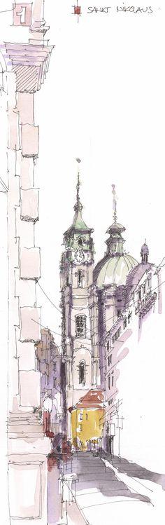 St NikolausKleinseite, Prag, CZ | Kleinseite, 15.11.2014 | By Jochen Schittkowski | Flickr