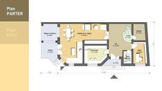 Proiect de casa potrivita pentru o familie cu doi copii   Model 184 mp utili   CaseDeTop.ro   #casedetop #proiectearhitectura #proiectecase #proiectcasa #vile #proiectevile #casefrumoase Vile, Blinds, Model, Floor Plans, Houses, How To Plan, Homes, Shades Blinds