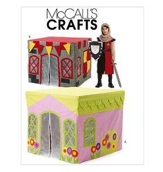 """M6369, Children's Playhouse- """"table cloth"""" fits right over table. easy childrens fort ! how awesome !"""
