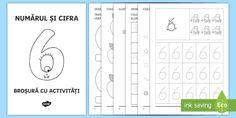 Numărul și cifra 6 Broșură cu activități - matmatică, cifre, numere, broșură, activități, numărul și cifra 6, numerație, clasa pregăti Map, Decor, Decoration, Location Map, Maps, Decorating, Deco