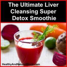 Super Liver Detox Smoothie Recipe