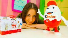 КИНДЕР сюрприз видео для детей. Kinder SURPRISE идет в школу мультики с ...