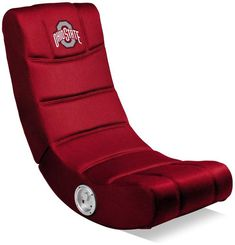 Ohio State Buckeyes Video Game Chair With Bluetooth