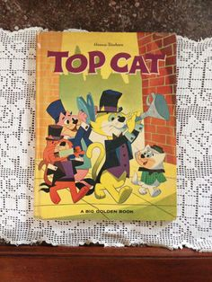 Top Cat  HannaBarbera 1963 Big Golden Book by LifetimeFinds, $12.50