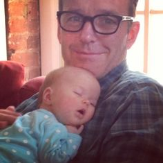 Agent Coulson holding a baby. Your argument is now invalid. It's actually not even heard over the sounds of squee.
