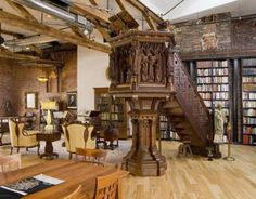 You too can live in this downtown Portland, Maine apartment for less than a million! It is gorgeous!