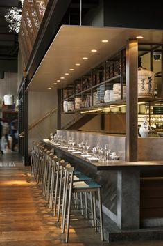 Sake Melbourne Restaurant, The Arts Centre, Melbourne designed by Luchetti Krelle