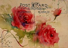 Vintage card available by emailing sandystrohs@gmail.com