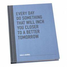 That quote. // GOALS JOURNAL - Goals Journal - Inspiration Journal - Notebooks & Journals $39.95
