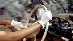 Driving gloves must be the epitome of elegance. To Catch a Thief (1955)