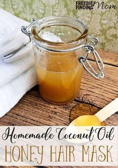 Is your hair looking dull, frizzy or just generally unhealthy? Bring back the beauty and luster with this coconut oil honey hair mask. This easy homemade hair mask recipe requires just two ingredients (three if you add the apple cider vinegar) and only a