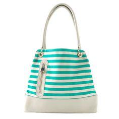 Nadine Bucket Bag in Turquoise