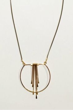 Crescent Cascade Necklace - EcoVibe Apparel - Loop