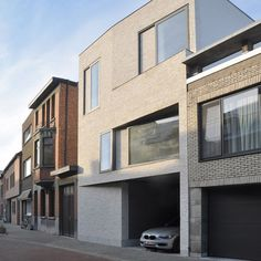 Town house EM by Areal Architecten