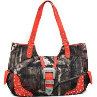 Realtree Studded Bag - TGREAT PRICES @ HANDFAPPAREL.COM