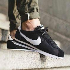 Nike Cortez Nylon Black