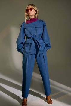 Derek Lam collection mode 2016 femme look fashion New Fashion Trends, New York Fashion, Fashion 2020, Fashion News, Fashion Brands, Denim Fashion, Look Fashion, Fashion Outfits, Fashion Design