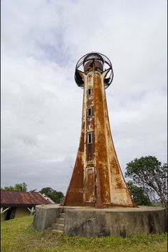 Pointe Albrand Lighthouse madagascar #lighthouse | Old Lighthouse in #Madagascar http://www.flickr.com/photos/arne/6234922837/