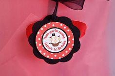 Pirate Favor Tags Birthday Party