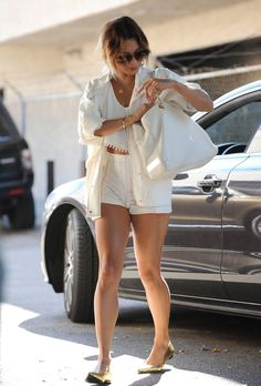 BFFs Vanessa Hudgens And Ashley Tisdale Meet Up At Nine Zero Salon For Girls' Hair Day - http://oceanup.com/2014/07/09/bffs-vanessa-hudgens-and-ashley-tisdale-meet-up-at-nine-zero-salon-for-girls-hair-day/