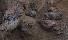 В Помпеях нашли самнитскую гробницу