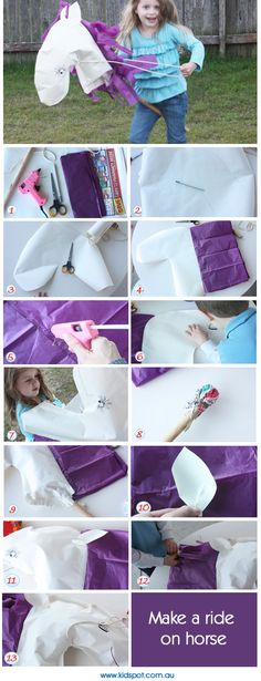 #Melbournecup Day! Paper Hobby Horse  | Imaginative Play