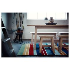 IKEA - RAVNSÖ Rug, flatwoven handmade multicolor