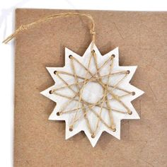 trim the tree – paper stars | home sweet homemade