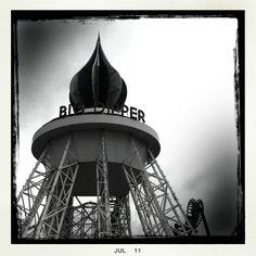 Blackpool Big Dipper, Blackpool, Childhood Memories, England, Retro, Ideas, Ursa Major, Neo Traditional, England Uk