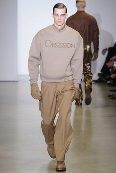 Calvin Klein Men's RTW Fall 2014 - Slideshow - Runway, Fashion Week, Fashion Shows, Reviews and Fashion Images - WWD.com