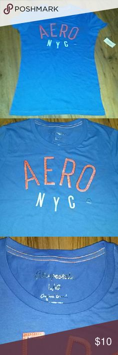 New aero short sleeve shirt Aeropostale short sleeve t shirt Aeropostale Tops Tees - Short Sleeve