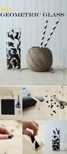 DIY designer glas
