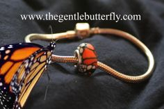 named the 2014 official butterfly conservation bead by the Association for Butterflies!!!  Its also great for relay for life fundraisers and memorial gifts we're finding out.  Peace and hope on the wings of a gentle butterfly.