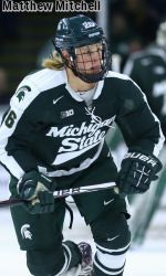 Michigan State and top-ranked Minnesota played to a 2-2 tie, while the Spartans picked up an extra point in the Big Ten standings by winning the shootout, on Friday night at Mariucci Arena in Minneapolis, Minn.